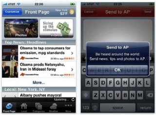 AP Mobile on iPhone