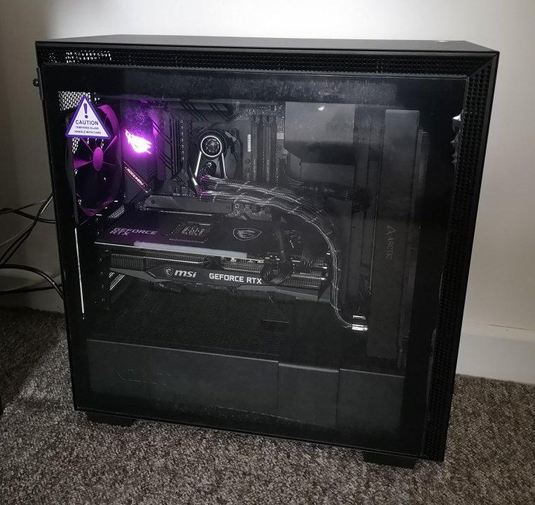 New Ryzen 9 5900X build
