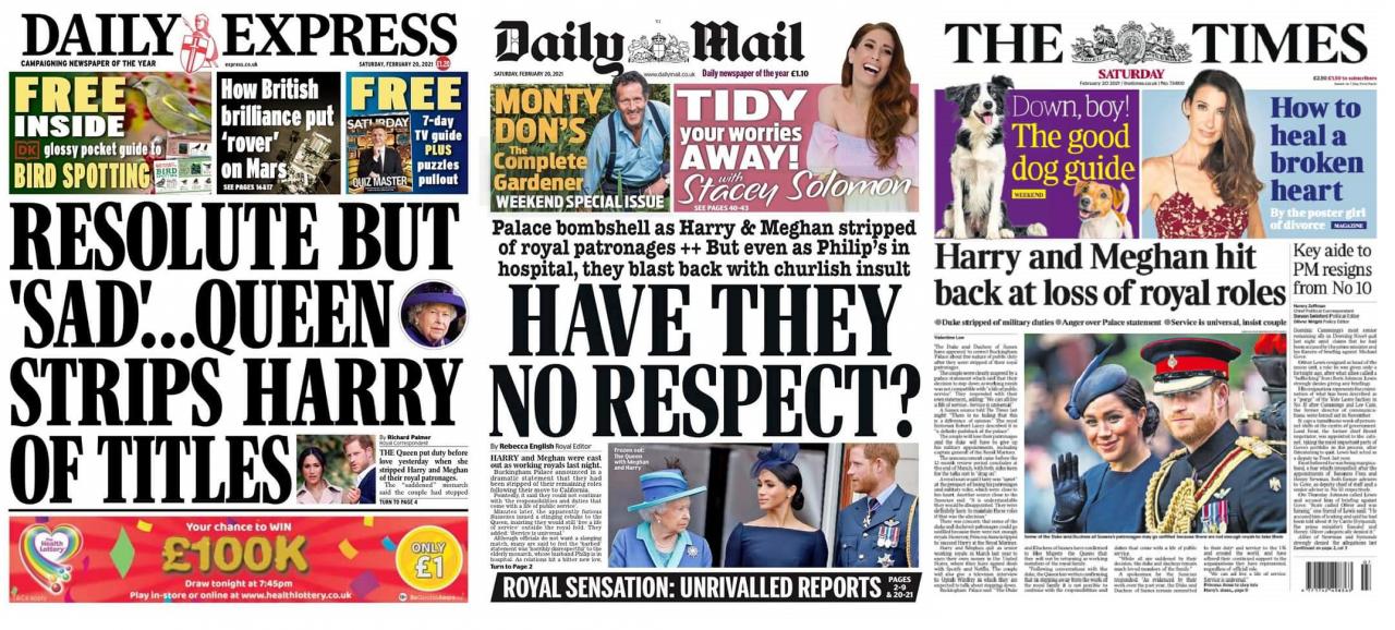 Tory press bullying Meghan Markle again