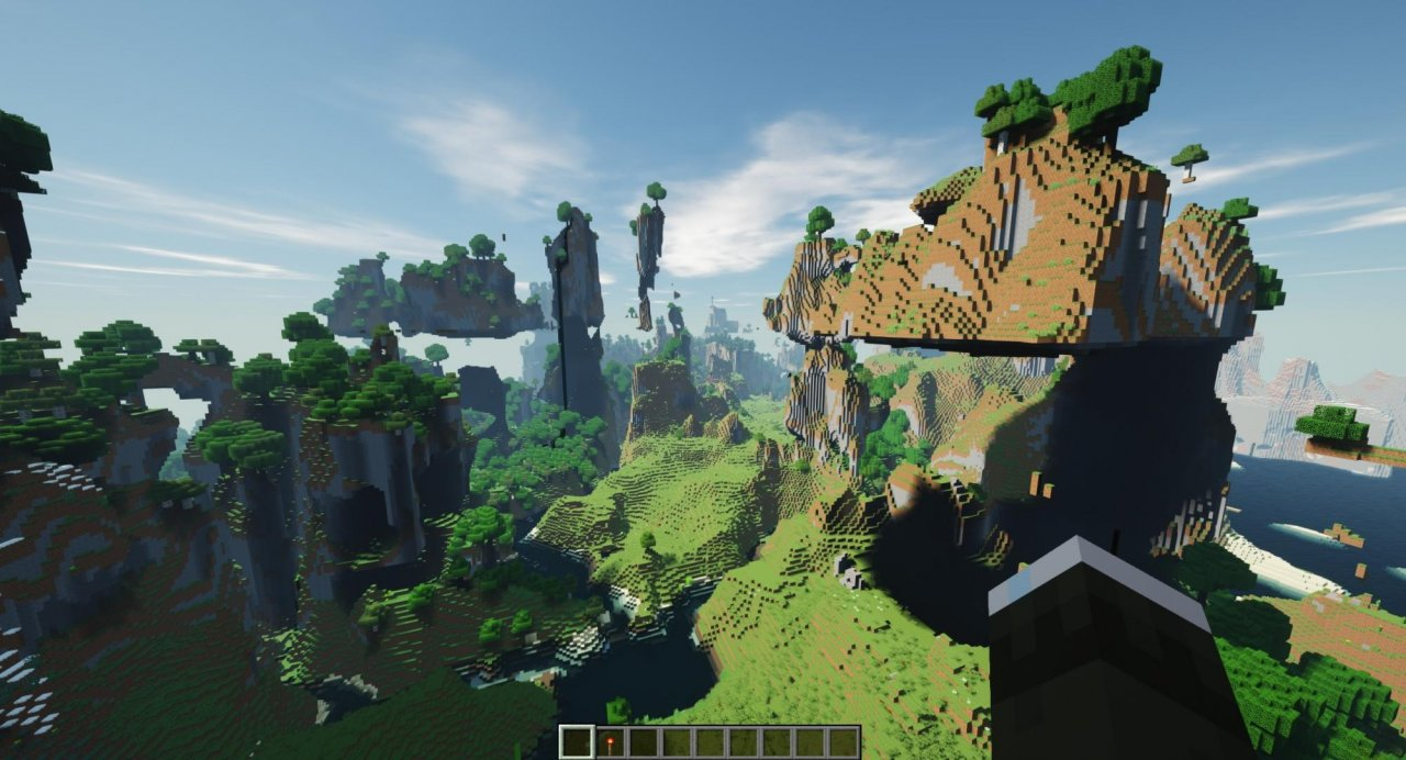 Minecraft with raytracing