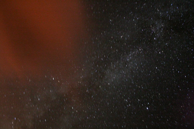 Milky Way and the Summer Triangle