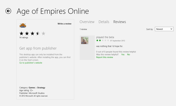 Desktop apps listed in the Windows Store